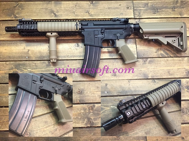 VFC Colt Mk18Mod1 DX ガスブローバック TAN JPver./COLT&DD Licensed